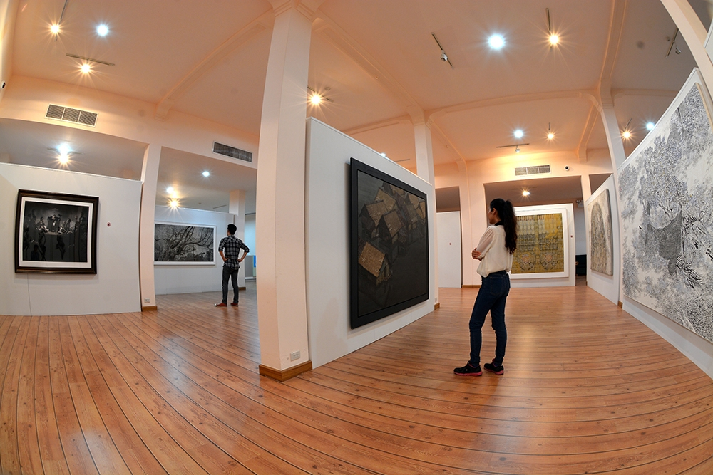 supporting art in Thailand