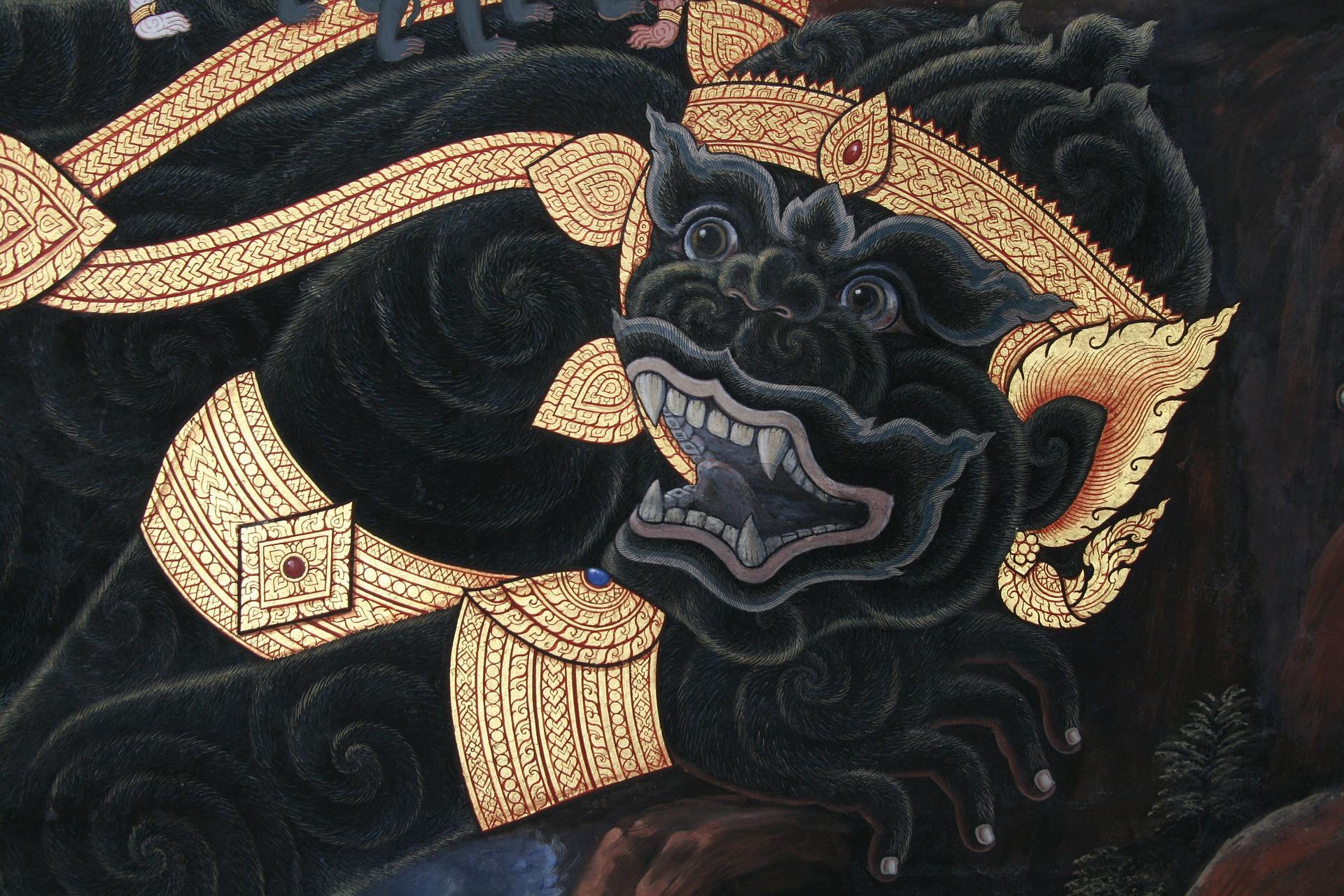 การสนับสนุนงานศิลปะของคนไทย